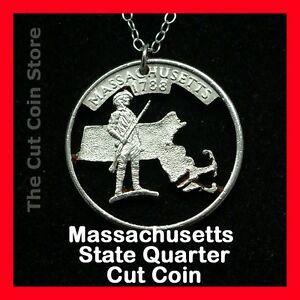 Massachusetts-Cut-Coin-Pendant-Necklace-Quarter