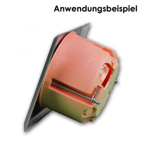 2 bananes douilles Wandanschluss ouverture pour haut-parleur acier inoxydable mur ouverture