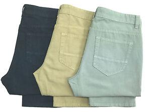 Men-039-s-M-amp-S-lightweight-linen-blend-jean-style-trousers-cut-label-MS27