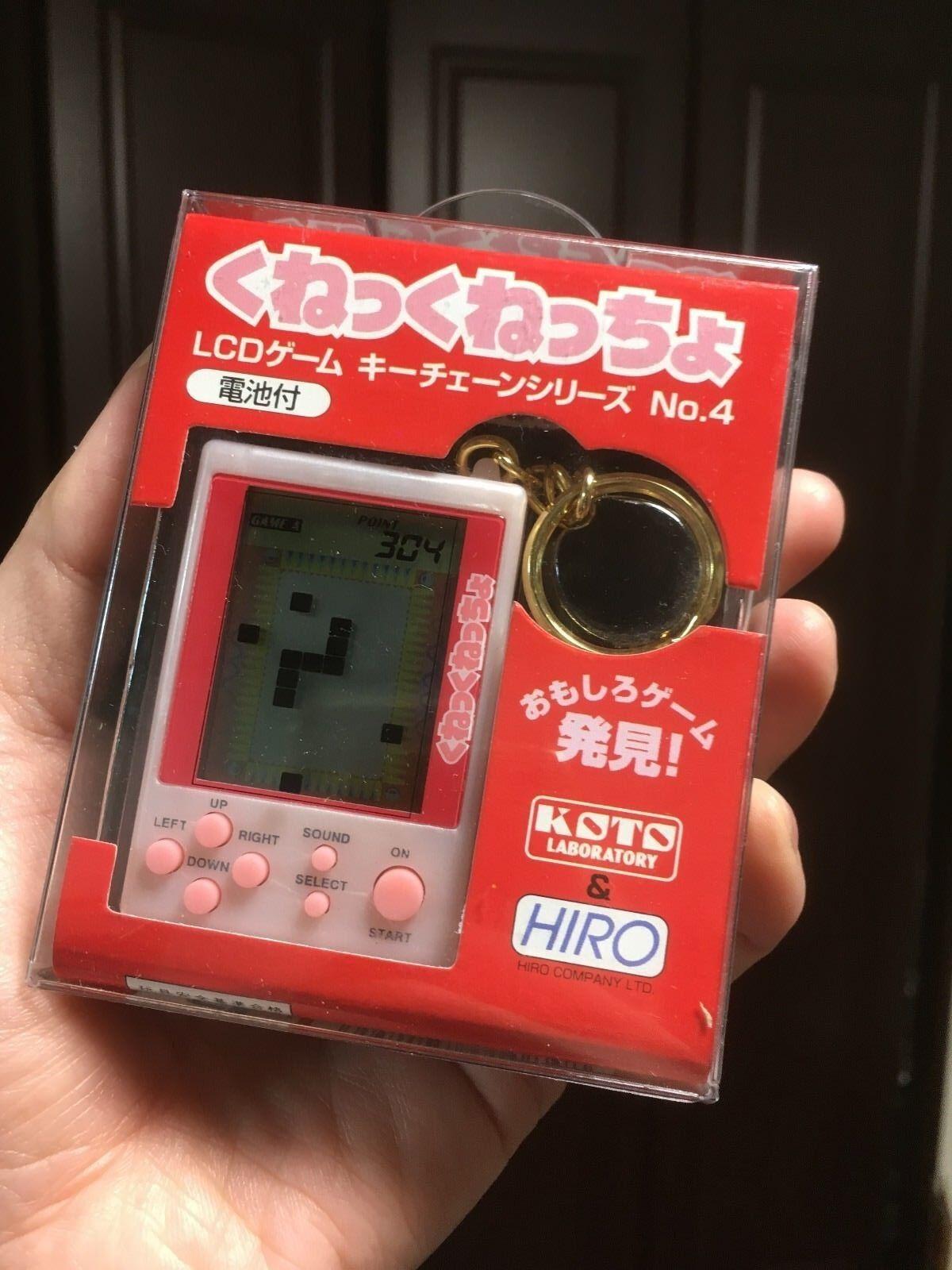 NEW NEW NEW RARE HIRO LCD GAME KUNEKUNECCHO Kune Kunet-chyo JAPAN KOTO GUMPEY 09b0af