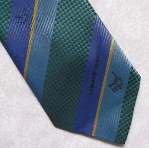 100% Vrai Vintage Cravate Homme Cravate Société Corporate Club Association Connah's Quay-afficher Le Titre D'origine Qualité SupéRieure (En)