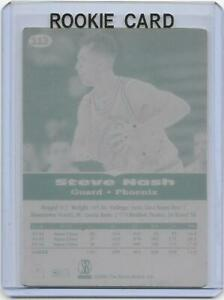 1-1-STEVE-NASH-ROOKIE-PHOENIX-SUNS-1996-SCORE-BOARD-CARD-113-RC-Plate-MAVERICKS
