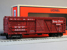 LIONEL NICKEL PLATE ACF LIVE STOCK CAR 42040 train O GAUGE freight 6-82315 NEW