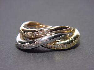 Besonderes-3er-Ring-Set-Tricolor-Ring-mit-Brillanten-Rose-Gelb-Weiss-Gold-750