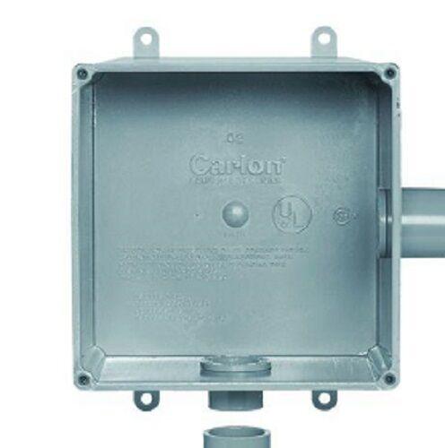 "ea Thomas /& Betts E987RR 6/"" x 6/"" x 4/"" PVC Molded Electrical Junction Box 6"