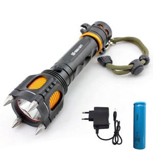 self-defence-T6-Led-Flashlight-torch-lamp-emergency-Tactical-18650-battery