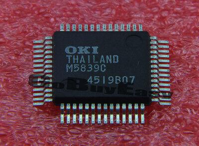 1PCS NEW M5839C Manufacturer:OKI QFP-56