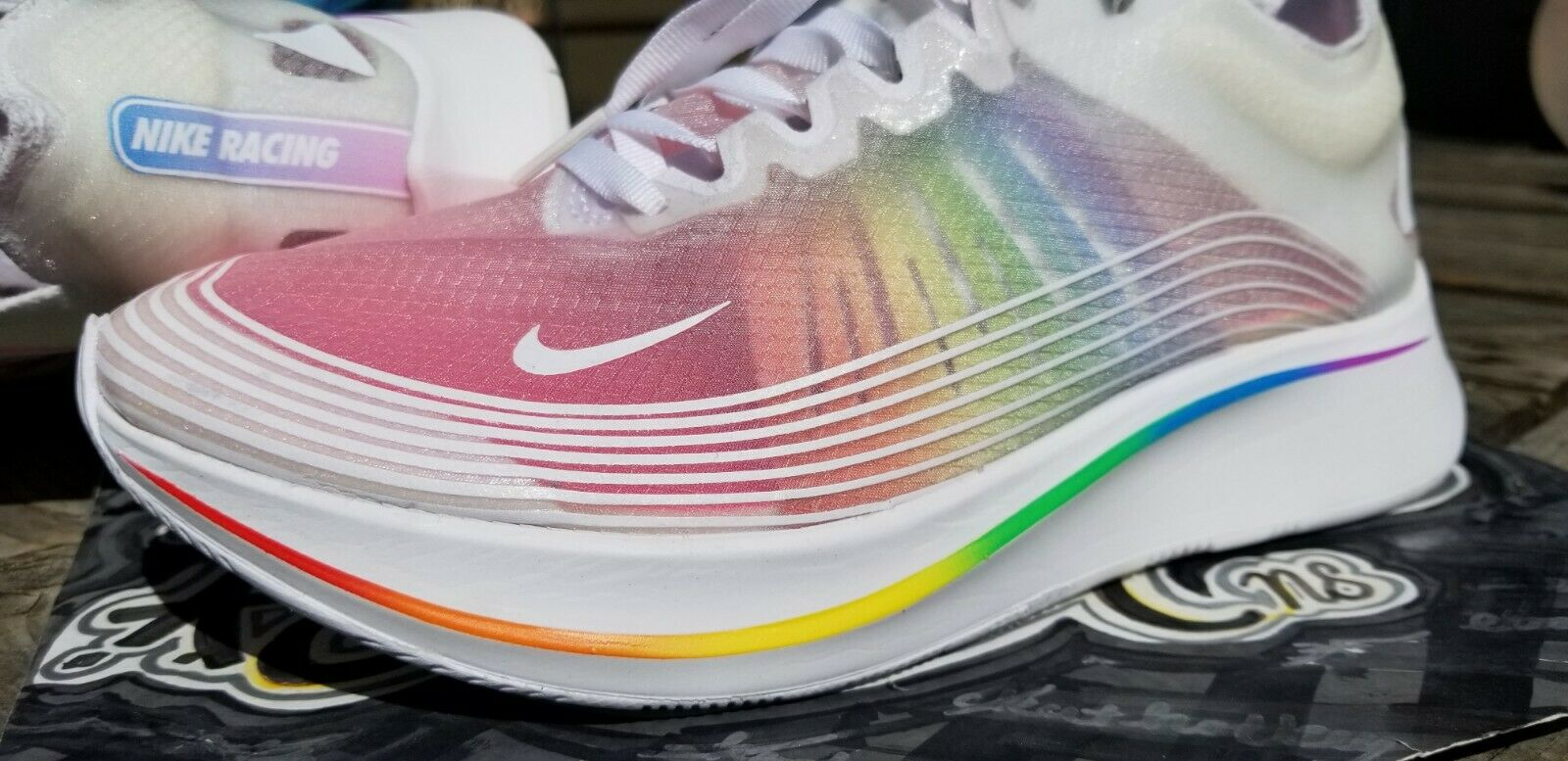 Unreleased Sample Nike Zoom Fly Be True LGBTQ Supreme Off White HTM Olympic USA