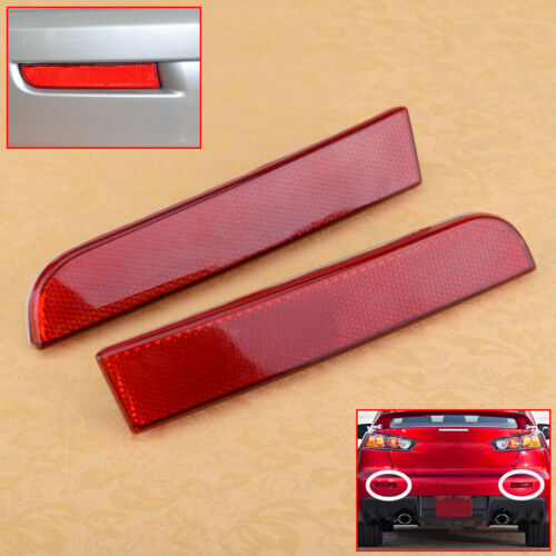 Bumper Reflector Rear Pair fit for Mitsubishi Outlander Sport//RVR//ASX Lancer