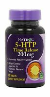 Natrol 5-htp Time Release Tablets 200mg 30 Count Free Shipping