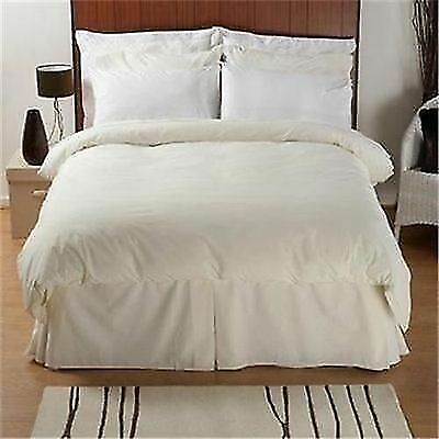 Egyptian Cotton Luxury 200 Thread Count Bed Linen In White Or Ivory