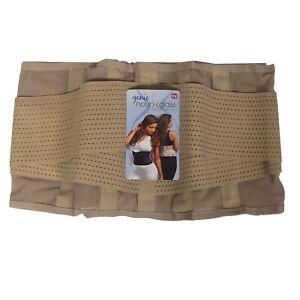 Genie Hourglass Belt Waist Trainer Shapewear for Women Body in Shape Nude 1X/2X