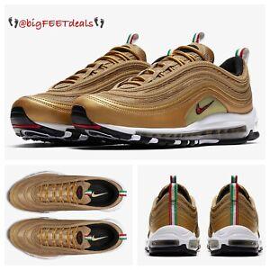 los angeles 3c88b d0955 Image is loading Sz-15-Nike-Air-Max-97-Metallic-Gold-