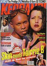 Skin of Skunk Anansie & Tairrie B Kerrang Cover 1997  Ozzy Osbourne Phil Anselmo