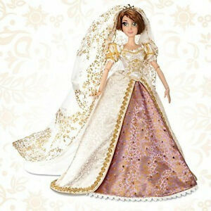 Image Is Loading Disney Limited Edition Tangled Ever After Rapunzel Wedding