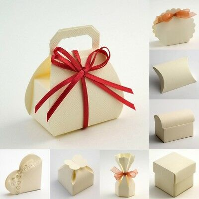 Box Only Clear Macaroon Boxes Plain or Inserts Christmas Favour Gift Boxes