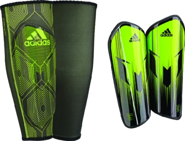 Buy adidas Messi 10 Pro Soccer Shin Guards Style Ap8355- Size M ... 5e065956ae