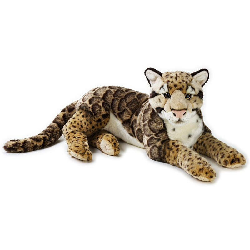 Peluche Leopardo nebuloso 65 cm National Geographic Venturelli PS 04151