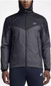Zip capucha sz con 917809 011 Jacket Sportswear Windrunner Hombres sudadera 2xl Nike Nuevo Full wtv6T