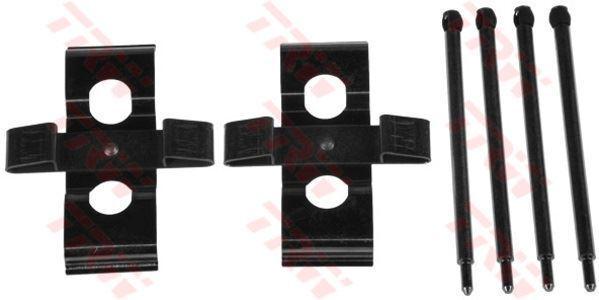 TRW PFK473 Accessoire Kit Plaquettes Disque de Frein Avant
