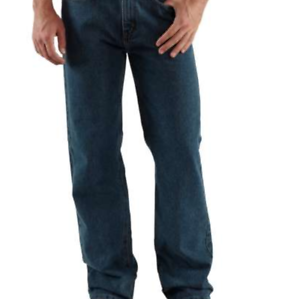 2a5bff61c04 Image is loading NEW-Carhartt-Relaxed-Fit-Straight-Leg-Jeans-B460-