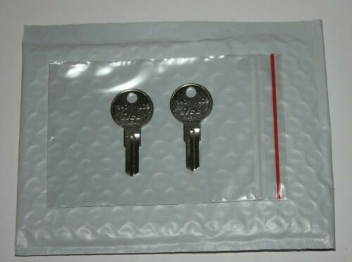 Two keys A18 Key for Home Depot Husky Tool Box Tool Cabinet Code Cut A18 toolbox