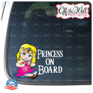 Little-Zelda-034-Baby-Kid-Kids-or-Princess-on-Board-034-BUYERS-CHOICE-Awareness-Sign