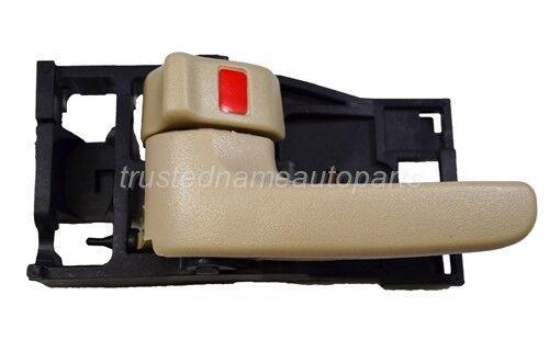 fits Toyota Inside Interior Door Handle Front Rear Left Driver Beige Tan