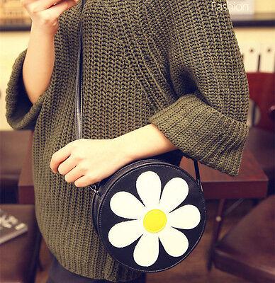 Daisy Flower Women Sweet Cross body Messenger bag Casual Shoulder Bags