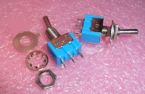 2-Pièce Spécial Interrupteur Bascule Simple-Bascules Max 6 A..