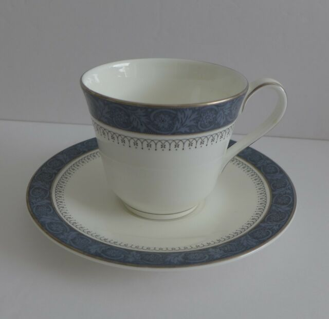 Royal Doulton Sherbrooke Teacup and Saucer Set English Bone China