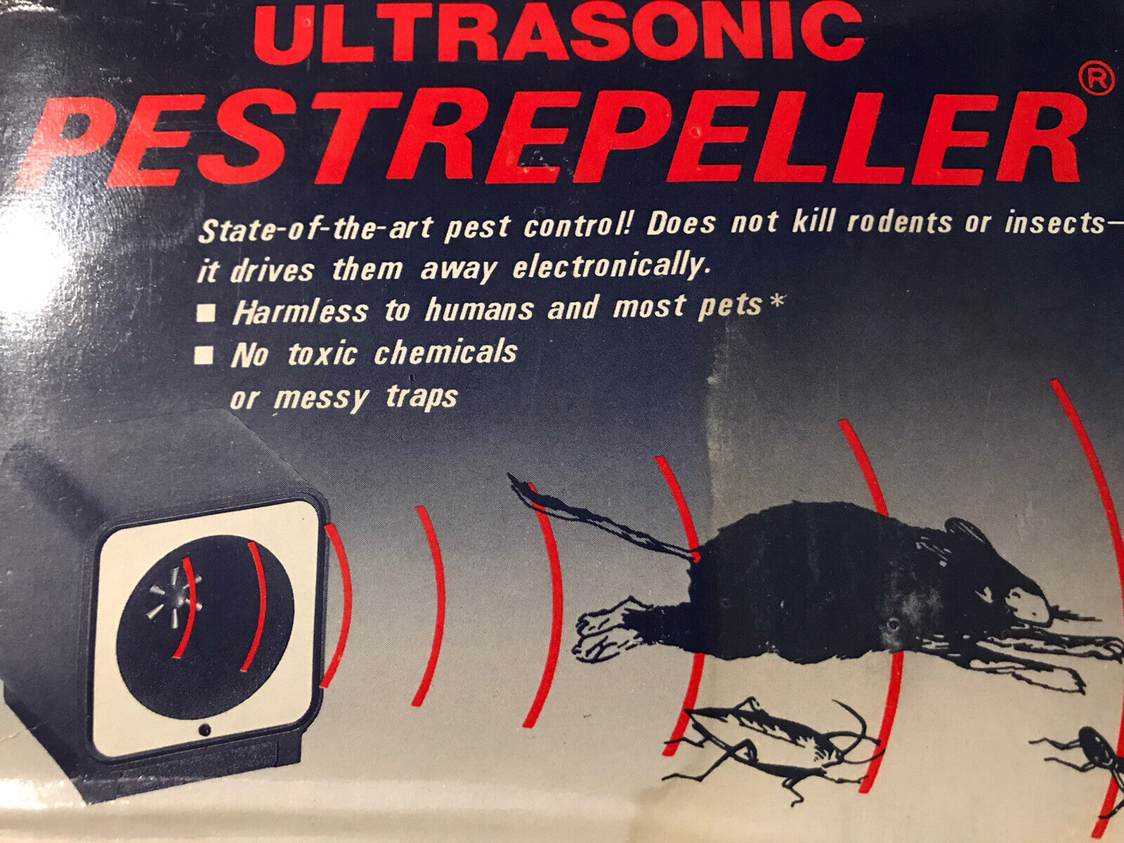 Ultrasonic Pest Repeller State of the art Pest Control