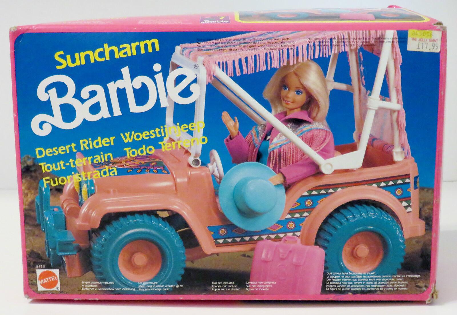 Mattel   Vintage Suncharm Barbie - Desert Rider (Western Jeep) VERY RARE