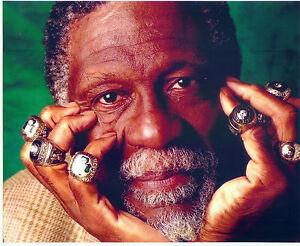 Image Is Loading BILL RUSSELL BOSTON CELTICS USF 8X10 PHOTO NBA