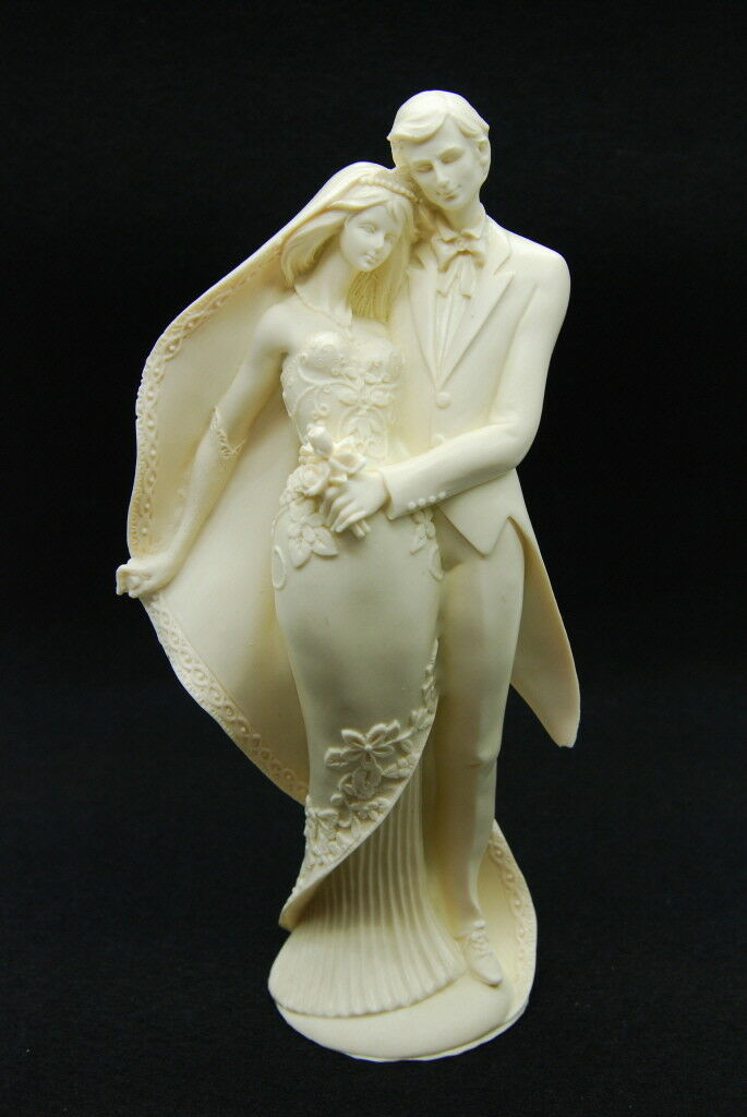 Bride&Groom XL, Silicone Mold Mould Chocolate Polymer Clay Soap Candle Wax