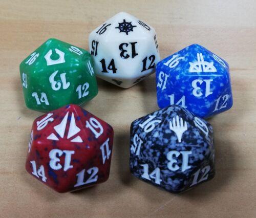 MTG Magic the Gathering Random /'Set Symbol/' D20 Dice Spin Down Dice Counter x 1