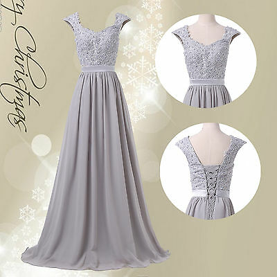 Vintage Mother Of The Bride 50s Long Bridesmaid Dresses Evening Prom Party Dress