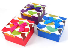 Ribbon Jewellery Empty Box Watches Bracelets Present Gift Box With Cushion