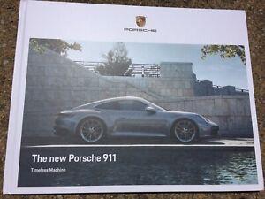 2019 PORSCHE 911 992 Series S /& 4S HARDCOVER BROCHURE NEW Timeless Machine