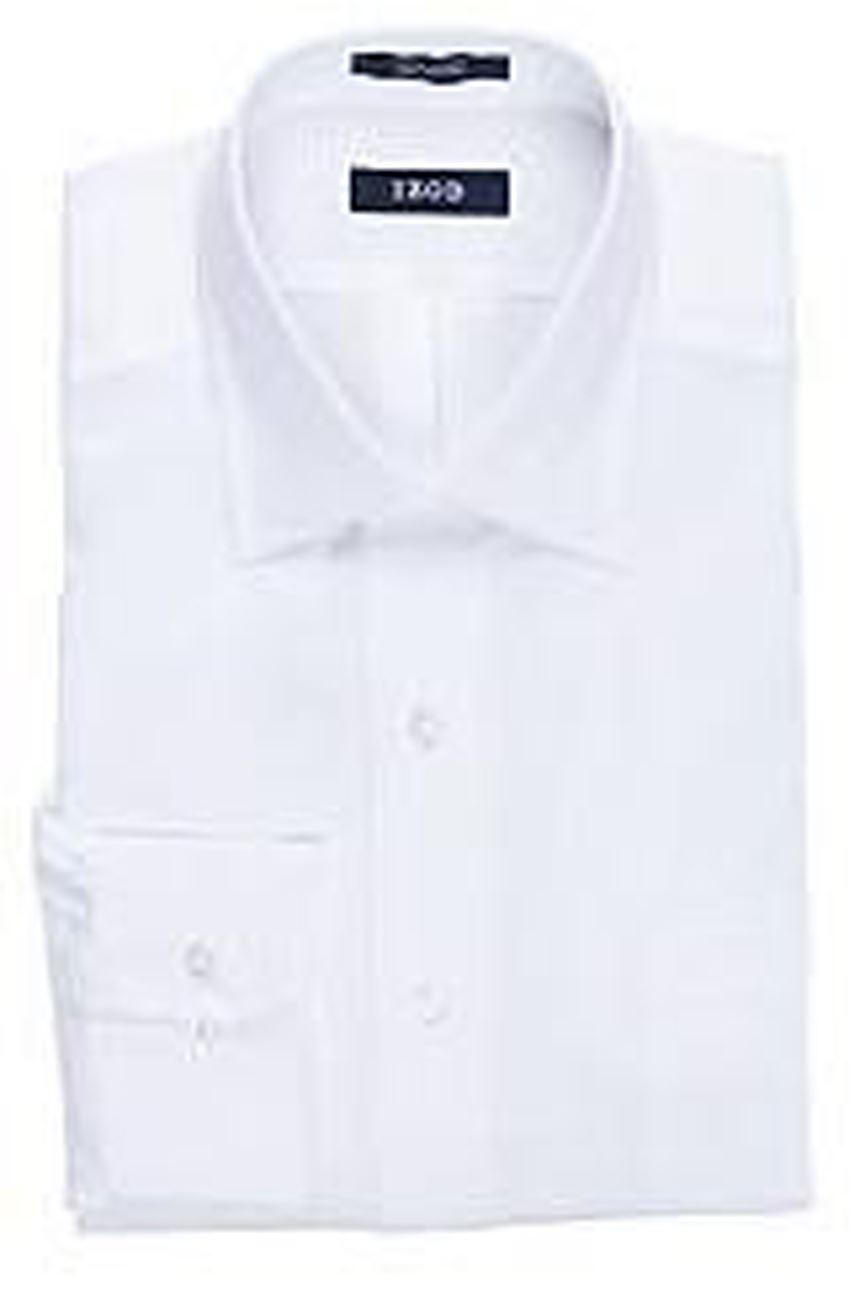 White Twill Classic Collar