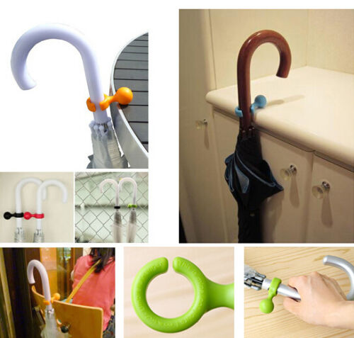 Portable Umbrella Hanger Helper Holder DIY Tips Storage Idea