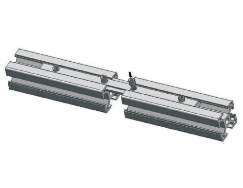Aluminium Profile Connector 160mm Groove 8 profile connectors for 30//40 profile profile connectors