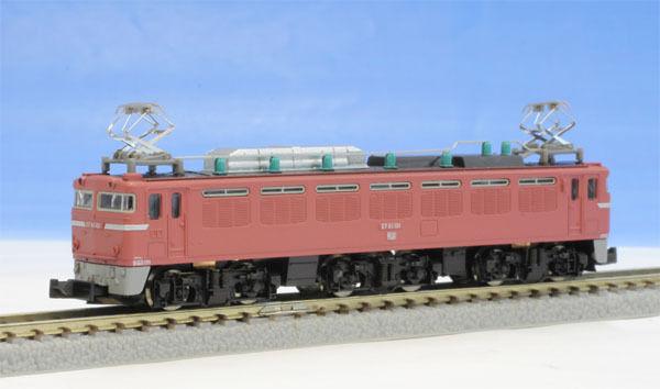 Rokuhan T015-2 Z escala Jnr Locomotora eléctrica tipo Ef81 Color normal