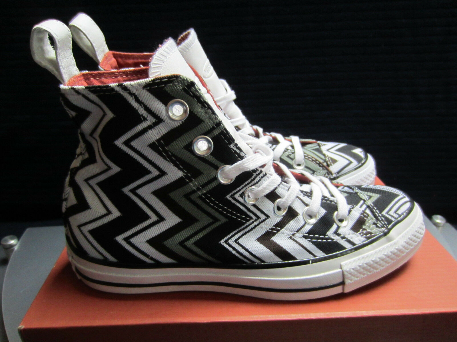 Converse CHUCK TAYLOR ALL STAR HI MISSONI 553383C Damen Damen 553383C Sneakers Gr.36,5 NEU OVP 221a13