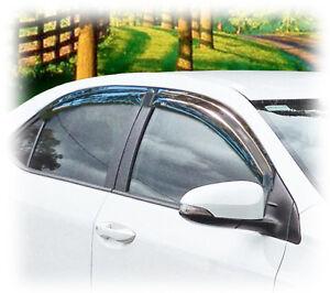 C Amp C Car Worx Rain Visors For 09 10 11 12 13 Toyota Corolla