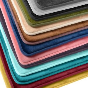 Luxurious Absorbent Soft Memory Foam, Memory Foam Bathroom Rug