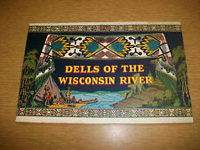 1936 Dells of the Wisconsin River Travel Brochure H.H. Bennett Studio Pictures