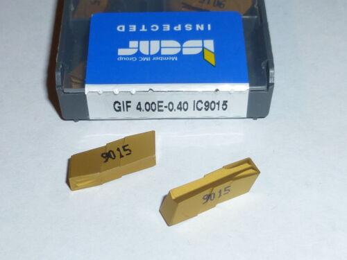 GIF 4.00E0.40 IC9015 ISCAR 10 INSERTS FACTORY PACK