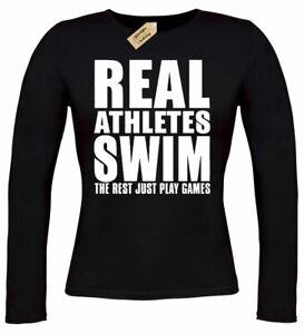 Swimming just an Irish Woman Funny Women Sweatshirt tee