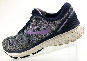 Brooks-Ghost-11-Running-Shoes-Blue-Purple-Comfort-Training-Womens-Size-10-5-B